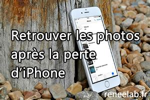 comment r 233 cup 233 rer les photos depuis un iphone perdu