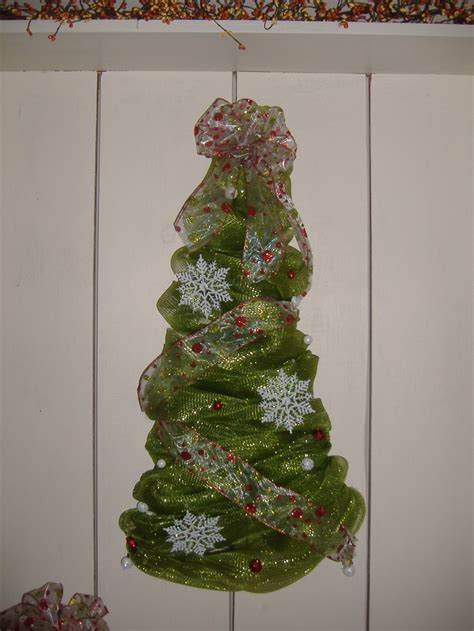 deco mesh christmas tree wreath poly deco mesh creations