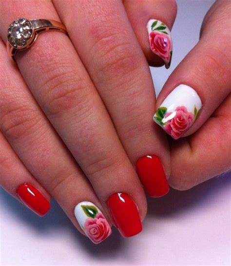 nail fiori passo passo 25 best ideas about floral nail on