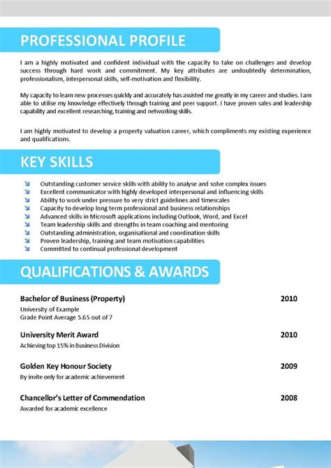 sample resume for australian jobs resume