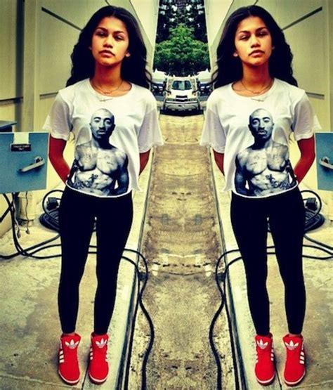 Micci Fashion Blouse Lamoda Bw tupac rap bw 2pac hip hop rap unisex white t shirt ebay
