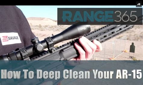 how to deep clean how to deep clean your ar 15 video my gun culture