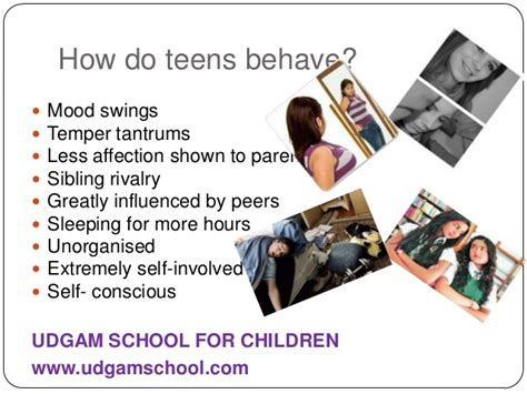 teenage mood swings symptoms dealing with teenagers