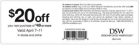Dsw Gift Card Discount - dsw coupon code fire it up grill