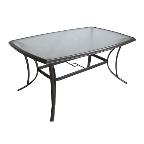 Home Depot Patio Table Martha Stewart Living Grand Bank Rectangular Patio Dining Table Dy4067 4062 The Home Depot