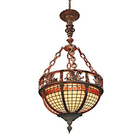Beautiful Stained Glass Paris Opera Chandelier With Stained Glass Chandeliers