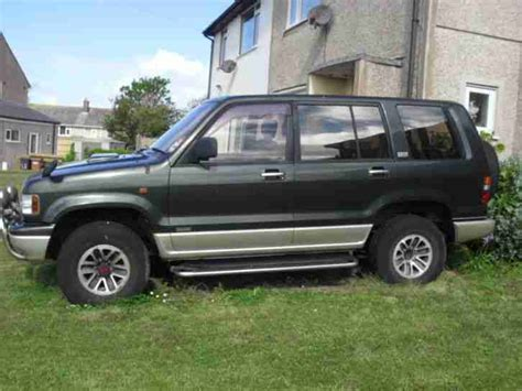 auto air conditioning service 1993 isuzu trooper seat position control isuzu trooper 4 x 4 with lotus handling 7 seater spares or repair no