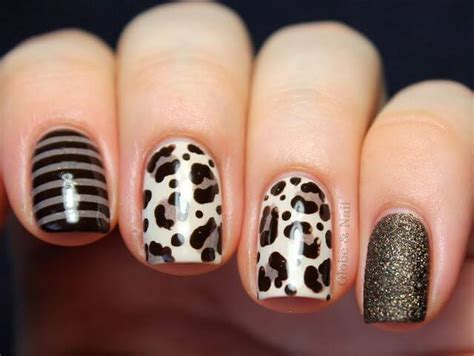 imagenes de uñas animal print 2014 u 241 as animal print 50 fotos para que uses de inspiraci 243 n