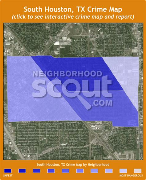 houston map crime south houston 77587 crime rates and crime statistics