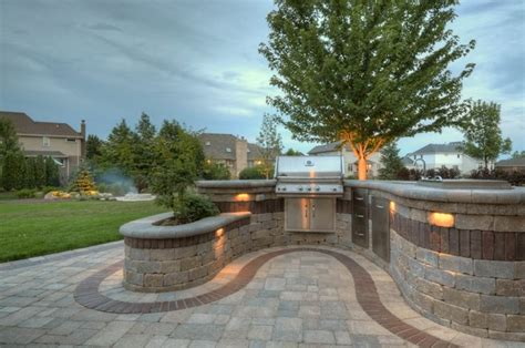 custom outdoor pit outdoor living with curved bar pits and custom