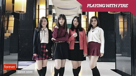 blackpink indonesia blackpink playing with fire dance cover kpop dance cover
