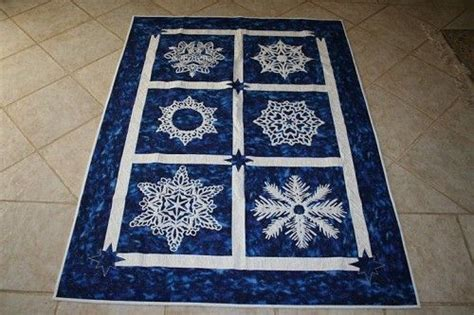 Snowflake Quilting Design by Snowflakes Longarm Quilting