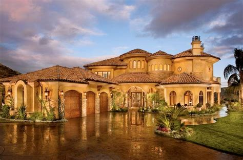 picture your life in tuscany in a mediterranean style home mediterranean tuscan home house exterior tuscan style