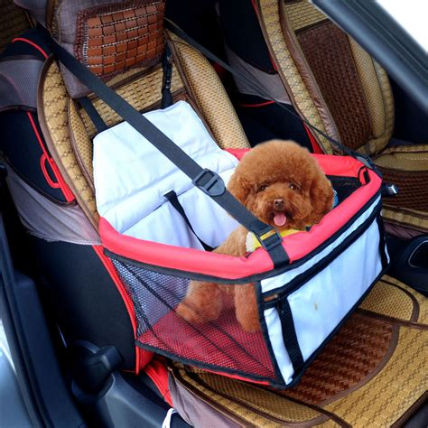 pet car seat carrier pawhut pet car seat booster tote soft safety travel