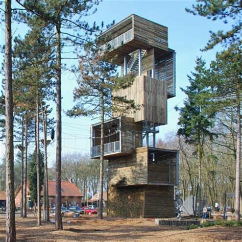 House Plans With Casitas observation tower built with logs opens in reusel