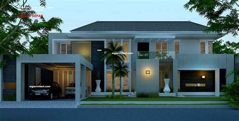 desain rumah hook mewah desain rumah mewah 2 lantai kavling hook