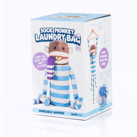 Sock Monkey Laundry Bag By All Things Brighton Beautiful Monkey Laundry