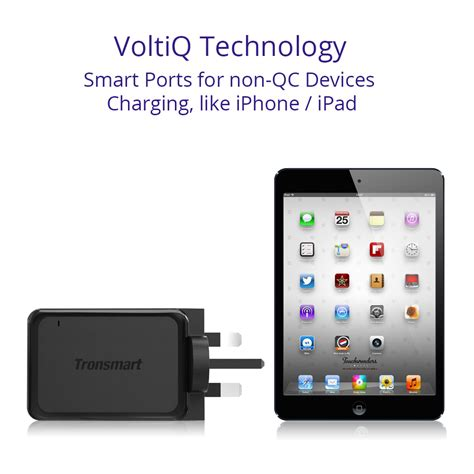 Exclusive Tronsmart 42w Charge 30 Usb Wall Charger Eu In tronsmart charge 3 0 usb wall travel charger