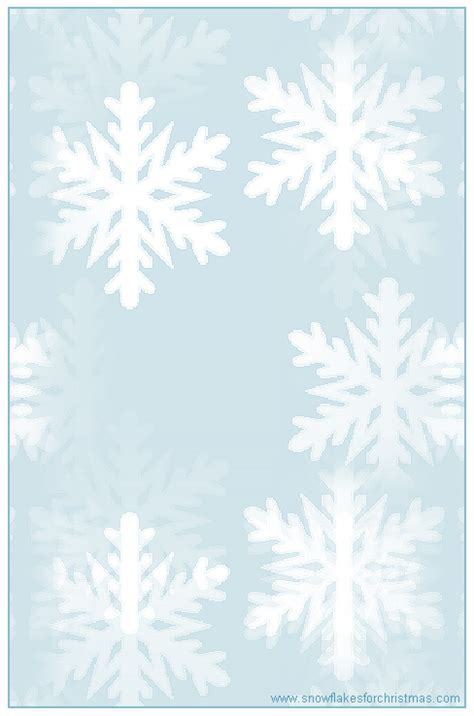 printable snowflakes stationery paper 6 best images of free printable snowflake writing paper