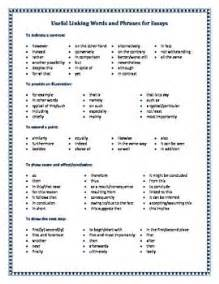 Word List For Writing Essays by 1000 Images About Learning On Words Student And Essay Writing