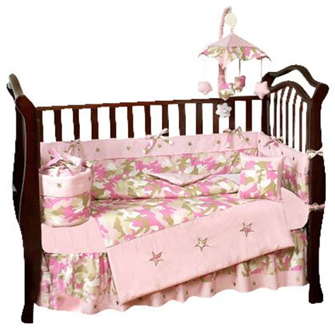 Pink Camo Crib Bedding by Camouflage Bedding Pink 9 Crib Bedding Set