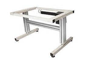 Sewing Table Height by 2 Leg Electric Adjustable Height Work Table Ergsource