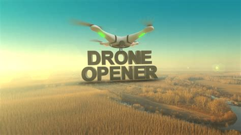 Drone Opener After Effects Template Videohive 13814041 After Effects Templates Logos And Drone Intro Template