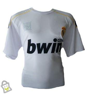 Baju Koko Ss Real Madrid White 1 store co id baju pria real madrid tshirt white l