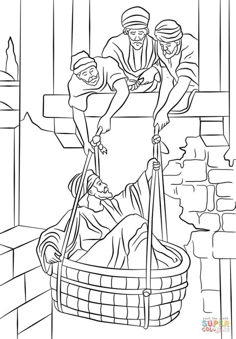 free coloring page paul in prison paul and silas in prison free colouring pages