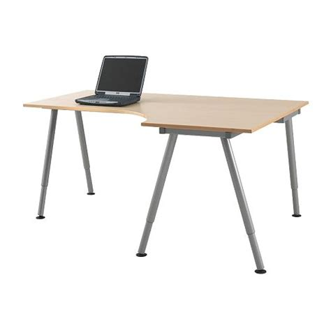 Galant Ikea Corner Desk Home Office Furniture Ikea