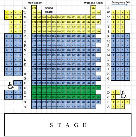 bucks seating chart seating chart bucks county playhouse