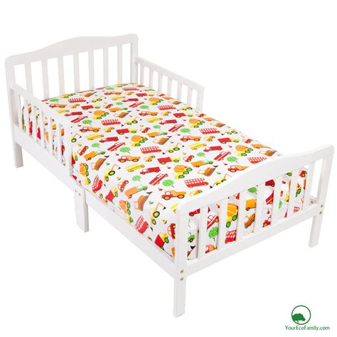 yourecofamily cotton fitted crib sheet