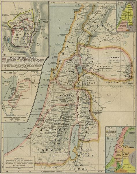 ancient mideast map middle east historical maps perry casta 241 eda map