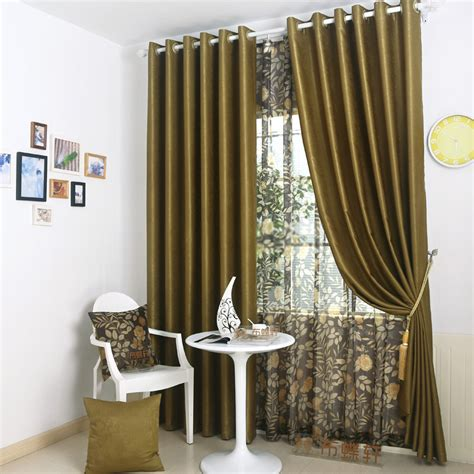 curtains brown and green olive green curtains of solid types of 2 panels