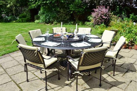 comparatif tables de jardin 224 plateau tournant le