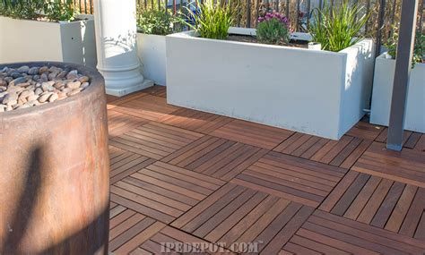 Deck Tiles by Deck Tiles Ipe Decking Tiles