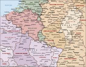 Map Of France And Belgium by Map Of France Belgium And Germany 187 Travel