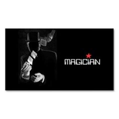 magician business card template free 1000 images about magician business cards on