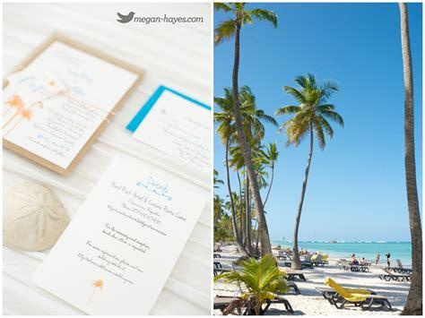 destination wedding invitations punta cana the jellyfish restaurant wedding megan photography