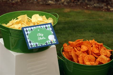 themed food events fun quot pun quot ny golf party food b lovely events