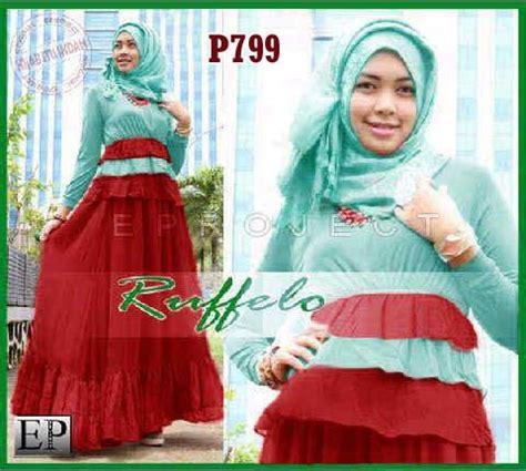 Dress Anak Merah Variasi Gold Bagian Pinggan Bawah 2 7 Rsby 3760 baju gamis pesta ruffelo p799 model baju muslim pesta remaja