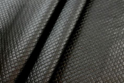 Quilted Fabric Uk by Quality Fabric Quilted Leatherette Black Quilted