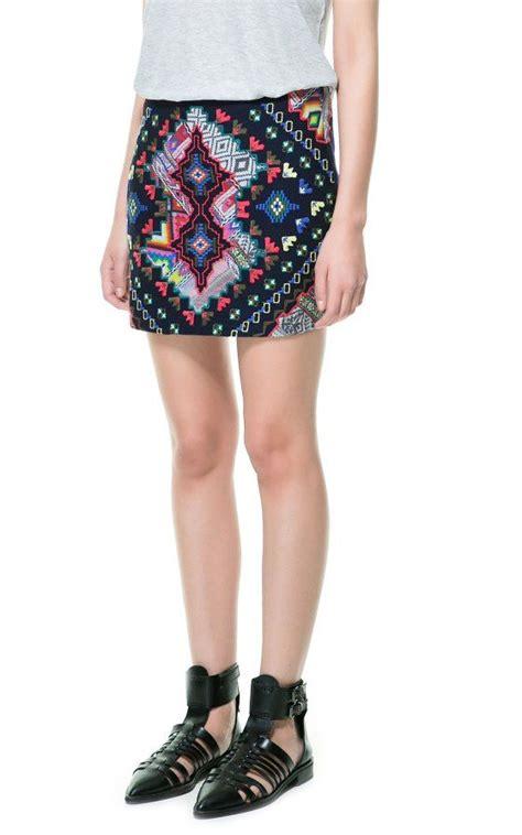 Skirt Mango Ori Murah Falda Bob elblogdeanasuero minifaldas estadas zara trf 233 tnica bordada colores cosas para comprar