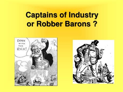 Captains Of Industry Essay by Robber Barons Vs Captains Of Industry Essay