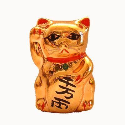 Kaos Imlek 2017 Tulisan China patung the lucky cat sekedar tahu