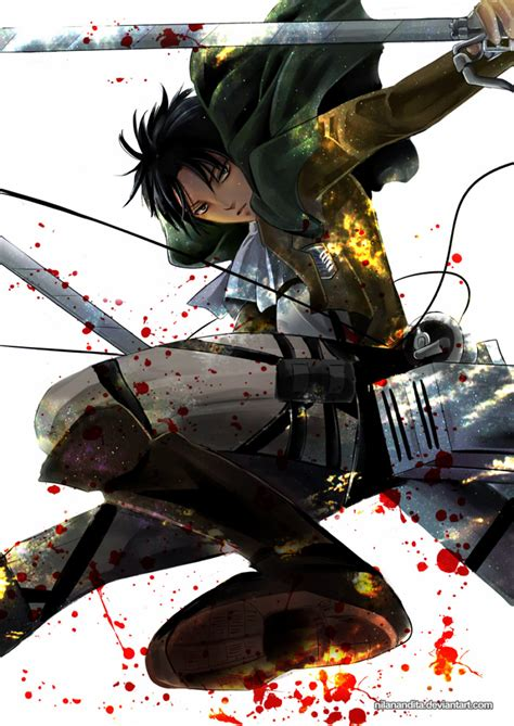 Captain Levi Wallpaper - WallpaperSafari Attack On Titan Levi Salute