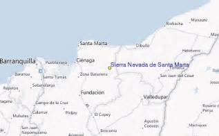 nevada de santa marta ski resort guide location