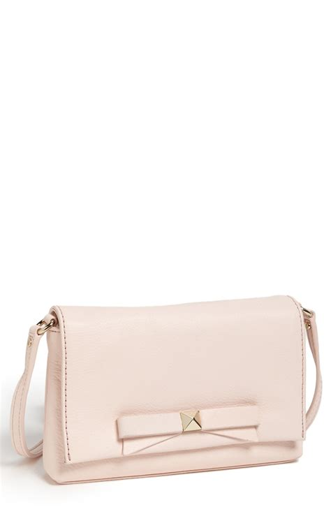 light pink crossbody purse kate spade bright light carah crossbody bag in pink blush