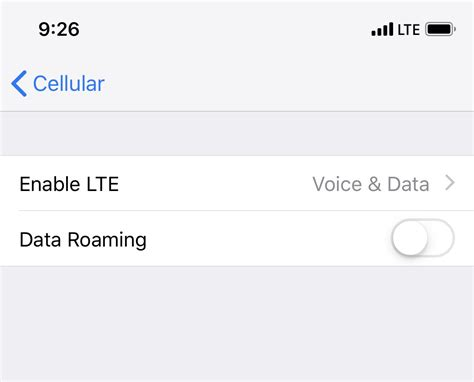 turn  roaming  iphone xs flyertalk forums