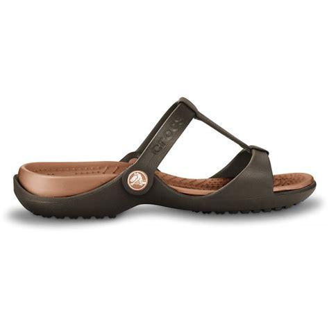 Sandal Croc crocs crocs cleo iii espresso bronze f12 sandal